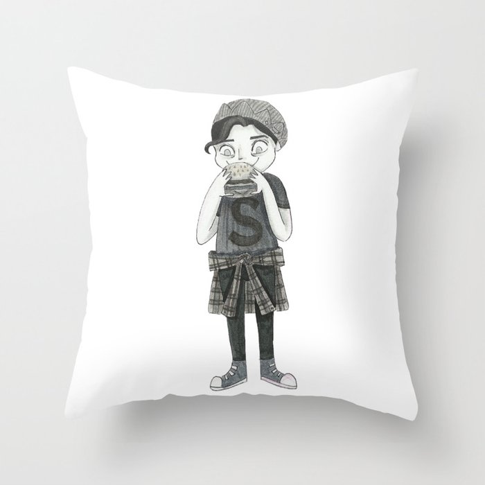 Jughead Jones Riverdale Throw Pillow By Conshillustration Society6