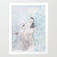 He Who Cried Wolf Art Print