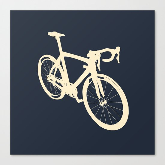 Bicycle - bike - cycling Canvas Print