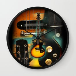 The Electric Guitar Wall Clock