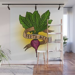Beets Me! Wall Mural