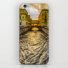 Swan Canal in St. Petersburg iPhone & iPod Skin