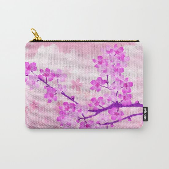Cherry Blossom - Variation 4 Carry-All Pouch