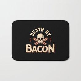 Death By Bacon Bath Mat