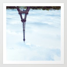 KEEP IT UPSIDE DOWN PLEASE. Art Print