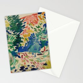 Landscape at Collioure - Henri Matisse - Exhibition Poster Stationery Cards