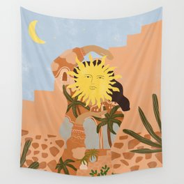 Soul full of sunshine Wall Tapestry