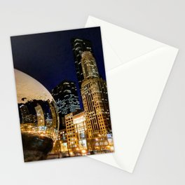 The Chicago Bean #4 Stationery Cards