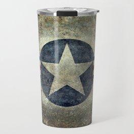 US Airforce style Roundel insignia V2 Travel Mug