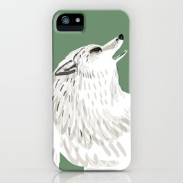 Totem Alaska tundra wolf iPhone Case