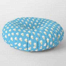 Polar Bear Ice Cream Pattern Floor Pillow
