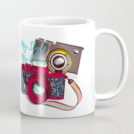 Retro camera. Fashion design. My style Coffee Mug