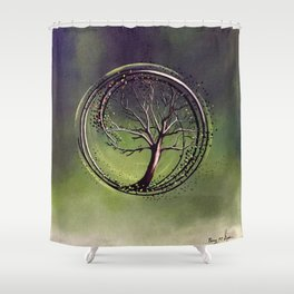 Insurgent | Painting Shower Curtain
