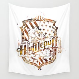 Hufflepuff Crest Wall Tapestry