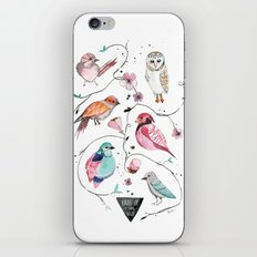 BIRDS OF THE WILD iPhone Skin