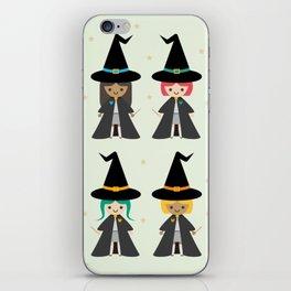 Cute Kawaii Witches iPhone Skin
