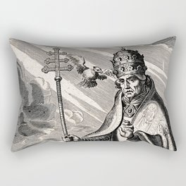 Saint Gregory the Great Rectangular Pillow