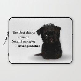 Affenpinscher Puppy Love Laptop Sleeve
