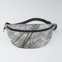 Snow Mountain Winter Forest VI - Nature Photography Fanny Pack