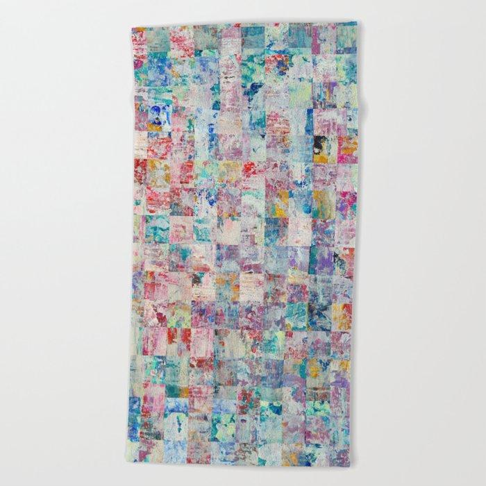 Abstract 136 Beach Towel