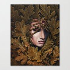 Mabon - goddess of fall Canvas Print