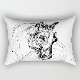 Horse (Judy) Rectangular Pillow