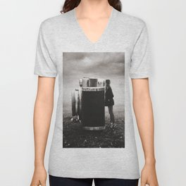 Looking Through Time Unisex V-Neck