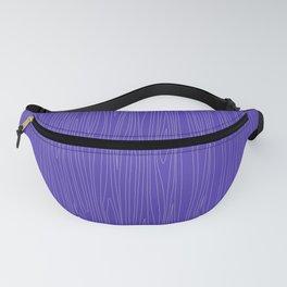 Wood Purple Fanny Pack