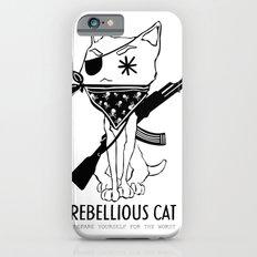 Rebellious Cat iPhone 6s Slim Case