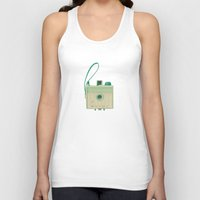 mint Tank Tops featuring Mint by Cassia Beck