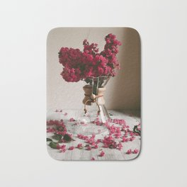 Coffee and Crepe Myrtles Bath Mat