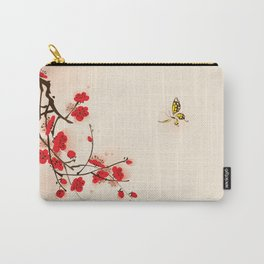 Oriental plum blossom in spring 011 Carry-All Pouch