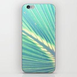 palm tree leaf  iPhone Skin