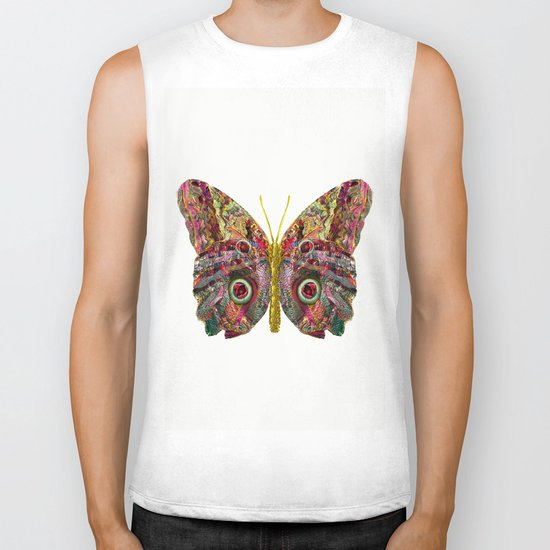 Float Like A Butterfly Biker Tank