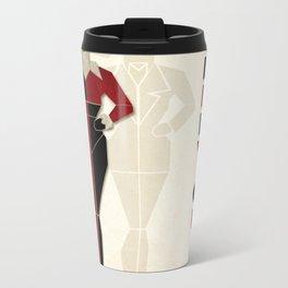 Harley Quinn Metal Travel Mug
