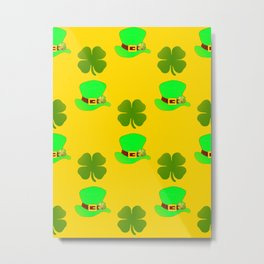 St Paddys Day Luck Metal Print