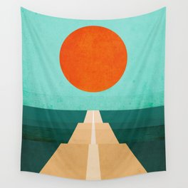 The Road Less Traveled Wall Tapestry