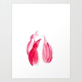 Juntos Art Print