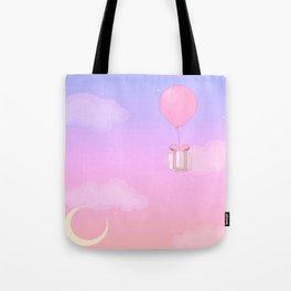 Animal Crossing Sunset Tote Bag