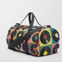 Vinyl Record Duffle Bag