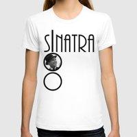 frank sinatra T-shirts featuring Sinatra 100th Birthday by EmeraldSora