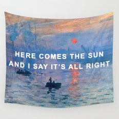 Here Comes the Impression, Sunrise Wall Tapestry