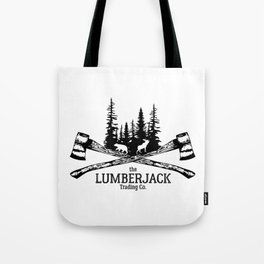 The Lumberjack Trading Co Tote Bag