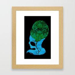 Beehive Babe Framed Art Print