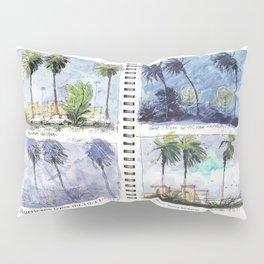 Hurricane Irma on Location w title Pillow Sham