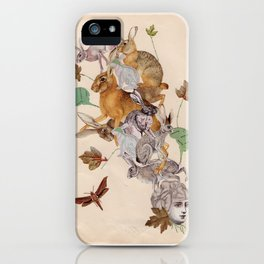 Hare Brain iPhone Case