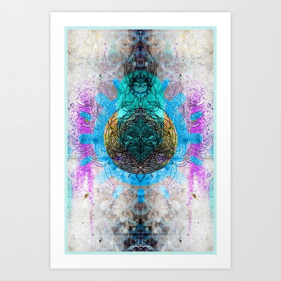 Traveling Sanctuary Art Print
