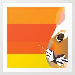Tiger club Art Print