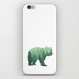 Forest Bear iPhone Skin