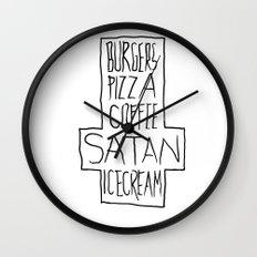 pizza & moar Wall Clock
